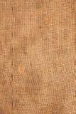 Linje grabb-suturer på Burlap som plundrar arkivbilder