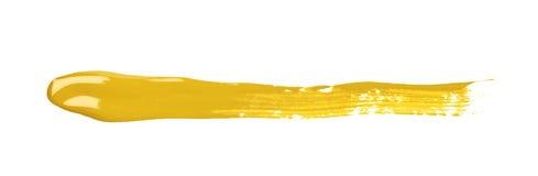 Linje isolerad slaglängd av målarfärg Royaltyfria Bilder