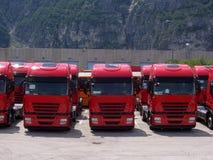 linje lastbil Royaltyfri Bild