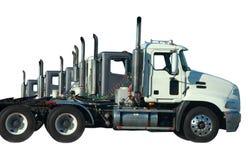 linje lastbilar Arkivbild