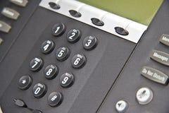 linje mång- telefonsystem Arkivfoto