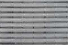 Linje modell för metallväggfasad Royaltyfri Foto