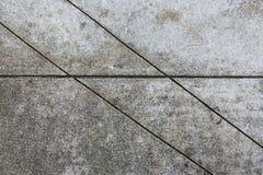 Linje modell i en konkret tjock skiva Royaltyfri Foto