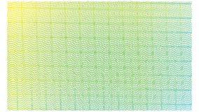 Linje modelllutning gul blue-02 royaltyfri illustrationer