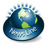 linje nyheterna Arkivfoton