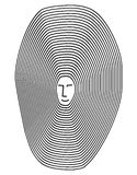 linje psykologivektor vektor illustrationer