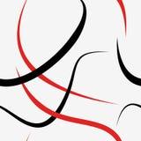 linje seamless modell Royaltyfri Bild
