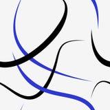 linje seamless modell Royaltyfri Fotografi