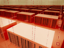 linje shopping Arkivbilder