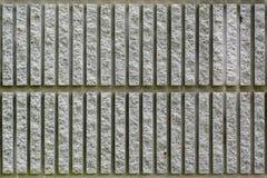 Linje stenvägg Royaltyfria Bilder