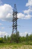 linje strömöverföring arkivbild