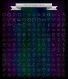 169 linje symboler Arkivfoto