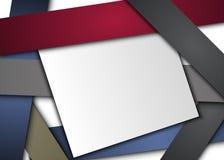 Linje tomt papper för konst för meddelande Arkivfoton