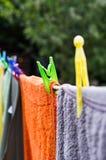 linje tvätt Royaltyfria Foton