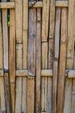 Linjen av brunt trä Royaltyfri Bild