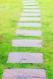 Linjen vägoutdor parkerar Arkivbild