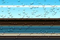 linjer Abstrakt vit guld- grå bakgrund, design Royaltyfria Foton
