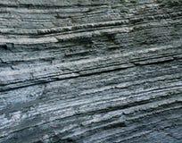 Linjer av berglager Arkivbild