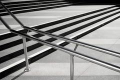 Linjer av moment av trappuppgången långsiktigt Arkivbild