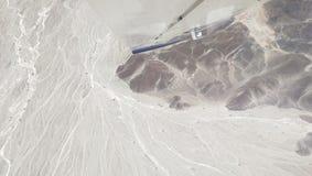 Linjer av nazcaen, Peru Royaltyfria Bilder