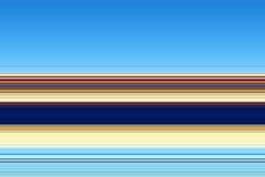 linjer Blå guld- beige fosforescerande abstrakt bakgrund, design Royaltyfria Bilder