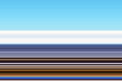 linjer Blå guld- fosforescerande abstrakt bakgrund, design Royaltyfria Bilder