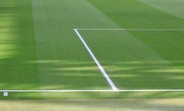Linjer detaljer för fotbollstadion Royaltyfri Fotografi