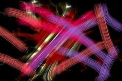 linjer Färgrika mousserande röda purpurfärgade linjer, skämtsam bakgrund Arkivbilder