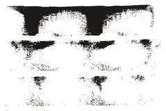 Linjer hög linjer för målarfärgrulle för detaljabstrakt begreppvektor & bakgrundsuppsättning 30 stock illustrationer
