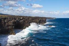 linjer kust Fotografering för Bildbyråer