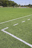linjer målade sporten Arkivbild