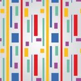 linjer mönsan seamless fyrkanter royaltyfri illustrationer