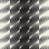 Linjer modell för sömlös parallellogram för vektor rastrerade sneda Arkivfoton