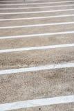 Linjer på trottoaren Arkivbilder