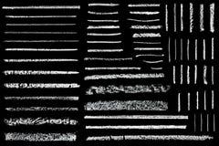 Linjer som dras i krita Royaltyfri Foto