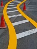 linjer trafik arkivfoton