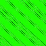 Linjer upprepning för textur för gröna prickar för bakgrund svarta royaltyfri illustrationer