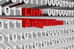 Link adaptation Stock Photo