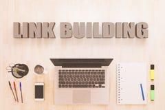 Link Building Fotografía de archivo