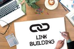 Link Building Imágenes de archivo libres de regalías