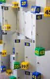 Link-Gepäck Büro. Lizenzfreies Stockbild