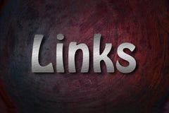 Link-Konzept Stockbild