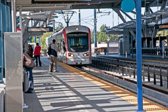 Link Light Rail Transport 3rd Year Succe Royalty Free Stock Image