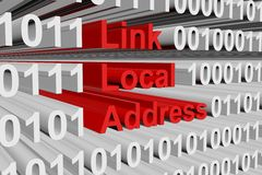Link local address Royalty Free Stock Images