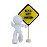 Link not found Stock Photography
