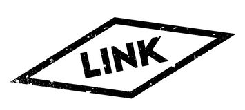 Link rubber stamp Royalty Free Stock Images