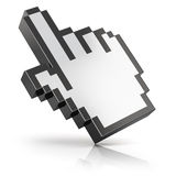 Link selection cursor Stock Image