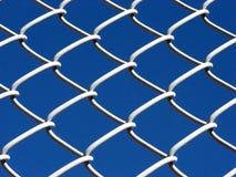 Link-Zaun Lizenzfreie Stockfotografie