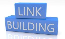Linkbuilding stock de ilustración