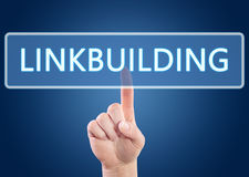 Linkbuilding Stock Image